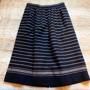 J.Crew Patterned Wool Skirt